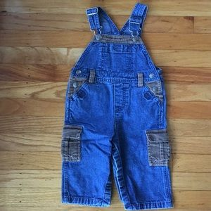 LEE Jeans Classic Overalls With Brown Corduroy